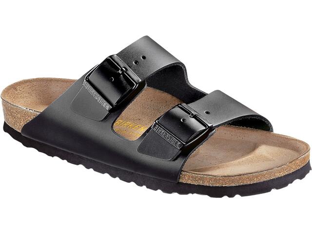 Birkenstock Arizona Sandals Natural Leather black